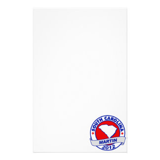 South Carolina Andy Martin Stationery Paper