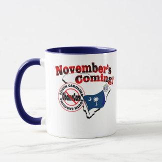 South Carolina Anti ObamaCare – November's Coming! Mug