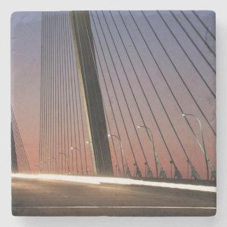 South Carolina Arthur Ravenel Jr Bridge Stone Coaster