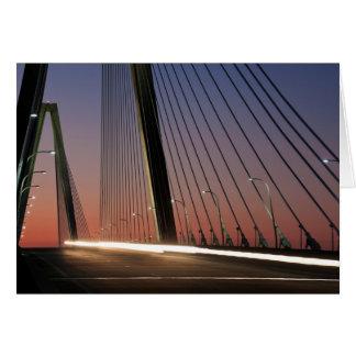 South Carolina, Arthur Ravenel Jr. Bridge Greeting Card