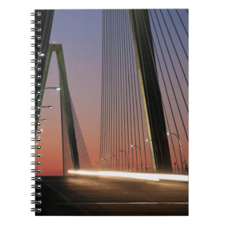 South Carolina Arthur Ravenel Jr Bridge Spiral Note Books