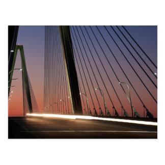 South Carolina, Arthur Ravenel Jr. Bridge Postcard