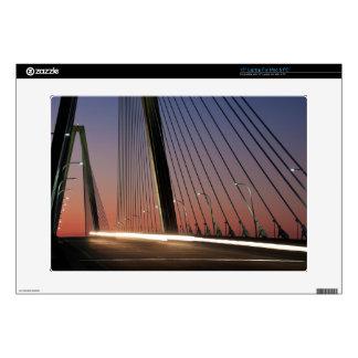 "South Carolina, Arthur Ravenel Jr. Bridge 15"" Laptop Decals"