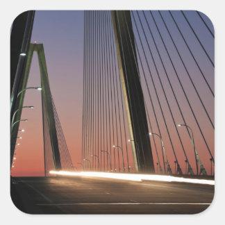 South Carolina Arthur Ravenel Jr Bridge Square Sticker