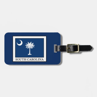 South Carolina Bag Tag