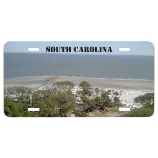 South Carolina Beach License Plate License Plate