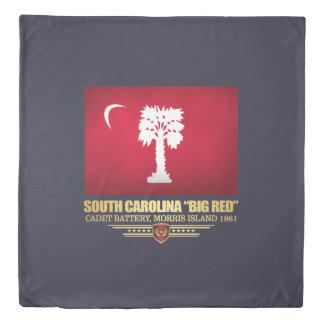 """South Carolina """"Big Red"""" Duvet Cover"""
