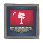 "South Carolina ""Big Red"" Gunmetal Finish Lapel Pin"