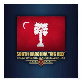 "South Carolina ""Big Red"" Poster"