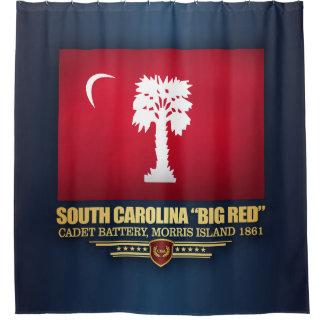 "South Carolina ""Big Red"" Shower Curtain"