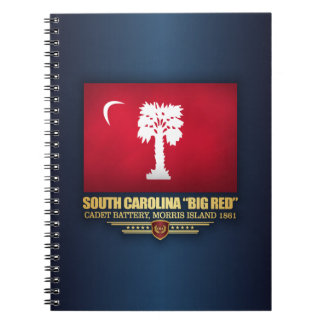 "South Carolina ""Big Red"" Spiral Notebook"
