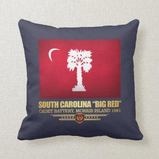 """South Carolina """"Big Red"""" Throw Pillow"""