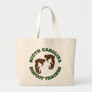 South Carolina Bigfoot Tracker Tote Bags