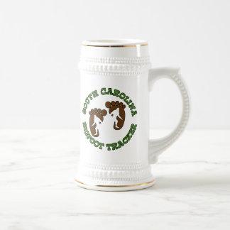South Carolina Bigfoot Tracker Beer Stein