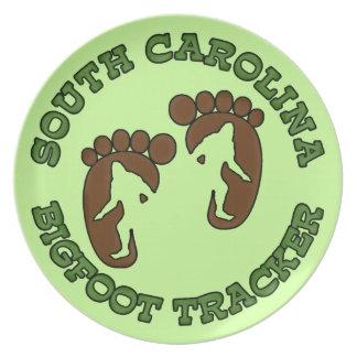 South Carolina Bigfoot Tracker Plate