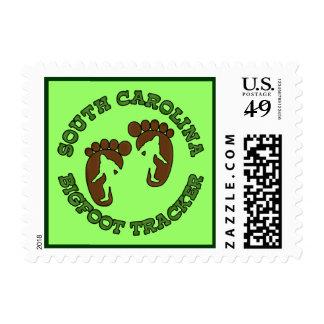 South Carolina Bigfoot Tracker Stamps