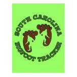 South Carolina Bigfoot Tracker Postcard
