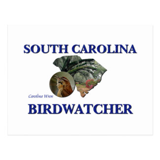 South Carolina Birdwatcher Postcard