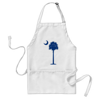 South Carolina blue Palmetto Adult Apron