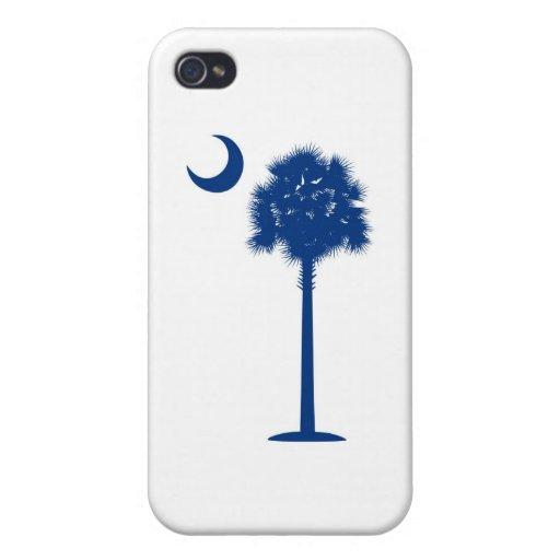 South Carolina blue Palmetto iPhone 4 Case