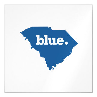 SOUTH CAROLINA BLUE STATE MAGNETIC CARD