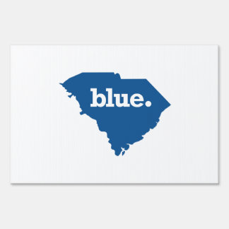 SOUTH CAROLINA BLUE STATE SIGN