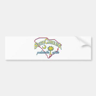 South Carolina Bumper Sticker
