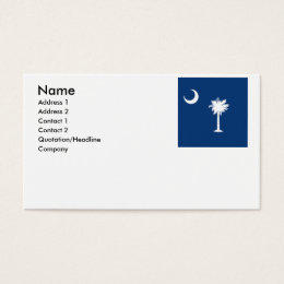 SOUTH CAROLINA BUSINESS CARD