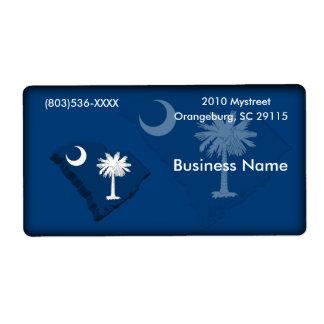 South Carolina Business Label