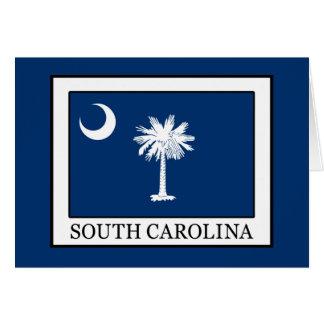 South Carolina Card