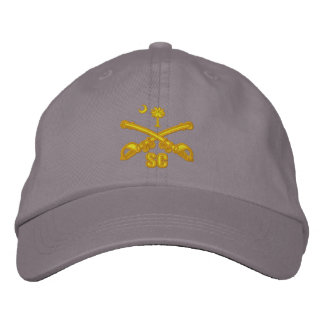 South Carolina Cavalry (Embroidered) Embroidered Baseball Hat