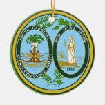 South Carolina* Christmas Ornament