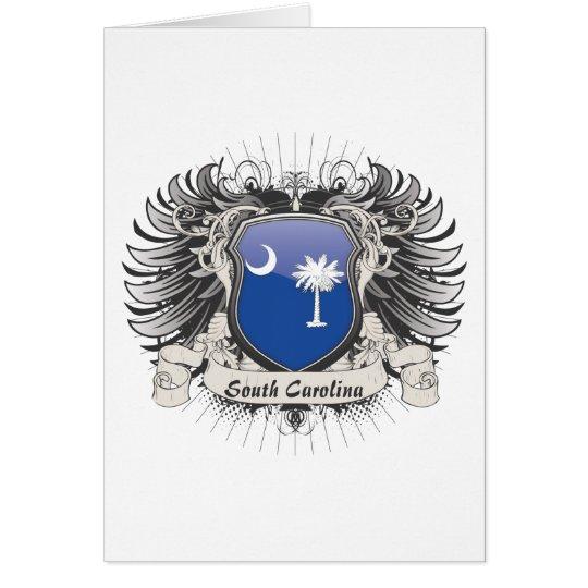 South Carolina Crest Card