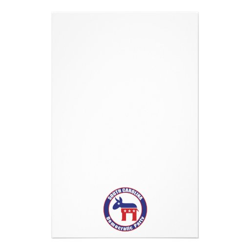 South Carolina Democratic Party Stationery Paper