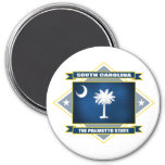 South Carolina Diamond Fridge Magnets