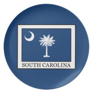 South Carolina Dinner Plate