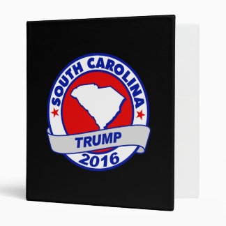 south carolina Donald Trump 2016.png 3 Ring Binder