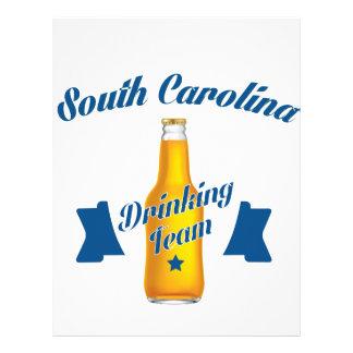 South Carolina Drinking team Letterhead