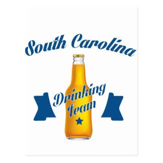 South Carolina Drinking team Postcard