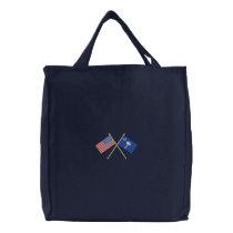 South Carolina Embroidered Tote Bag