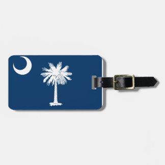 South Carolina Flag Bag Tag