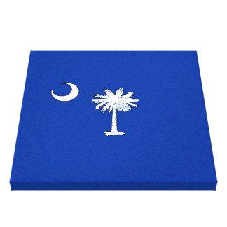 SOUTH CAROLINA FLAG CANVAS PRINT