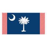 South Carolina Flag Customized Photo Card