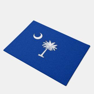 SOUTH CAROLINA FLAG DOORMAT