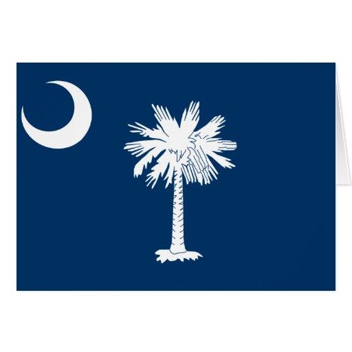 South Carolina Flag Greeting Card