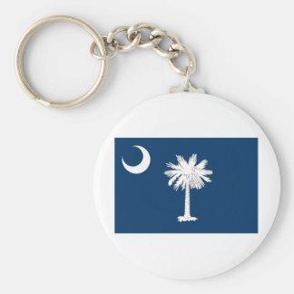 South Carolina FLAG International Keychain