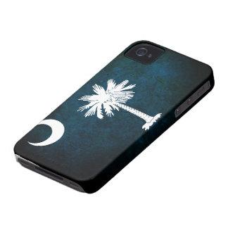 South Carolina Flag; iPhone 4 Case-Mate Case