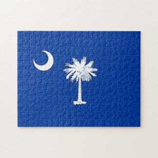 SOUTH CAROLINA FLAG JIGSAW PUZZLE