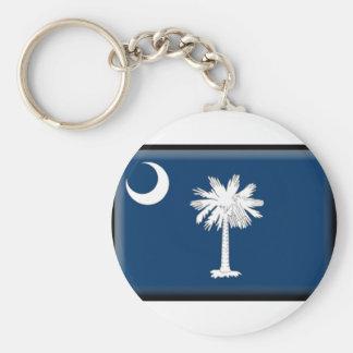 South Carolina Flag Key Chains