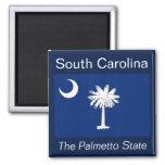 South Carolina Flag Magnet